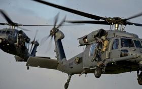 Картинка вертолет, боевой, HH-60G, Pave Hawk