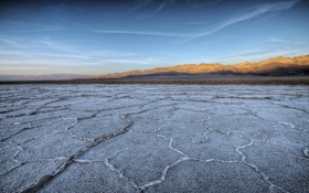 Обои United States, California, Badwater Sunset