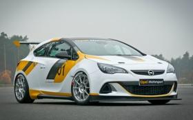 Обои Opel, Germany, Coupe, Racing, опель, Astra, 2013