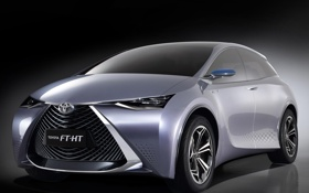 Обои Concept, концепт, Toyota, тойота, FT-HT