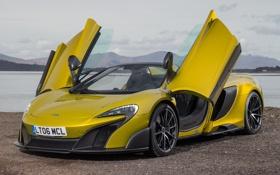 Обои McLaren, суперкар, макларен, Spider, 675LT