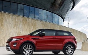 Картинка красный, Land Rover, Range Rover, Evoque, эвок, рендж ровер