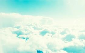 Картинка 2560x1600, пейзаж, nature, sky, небо, облака, light
