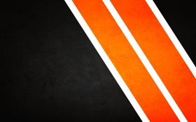 Обои оранжевый, полосы, strips