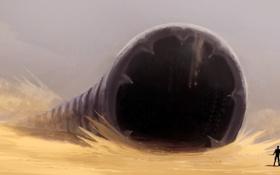 Обои Dune, Sandworm, Frank Herbert