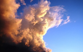 Обои небо, облака, тучи, обои, пейзажи, фотографии