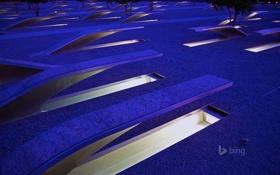 Обои Вирджиния, США, Арлингтон, Pentagon Memorial