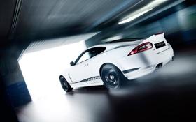 Обои скорость, гараж, xkr