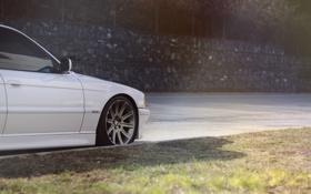 Обои Катки, BMW, 740i, Бумер, Белый, bimmer, White