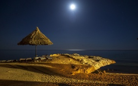 Картинка луна, египет, красное море