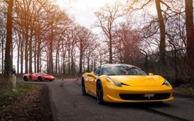 Картинка Lamborghini, Ferrari, 458, Aventador, Italia, Lp 700-4