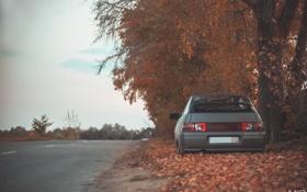 Обои машина, авто, осень, фотограф, Lada, auto, photography