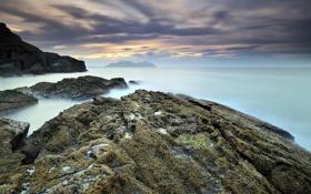 Картинка море, пейзаж, природа, скалы