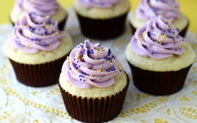 Обои lemon, food, sweet, cupcake, dessert, muffins, Cupcakes