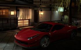Картинка красный, Япония, Ferrari, диски, GT5