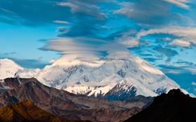 Обои гора, Аляска, Мак-Кинли