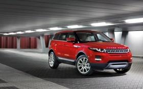 Обои car, красный, обоя, внедорожник, стоит, автомобиль, rover
