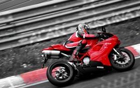 Картинка мотоцикл, Ducati, bike, спортбайк