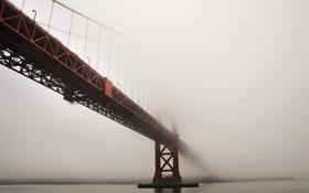 Картинка san francisco, fog, golden gate bridge