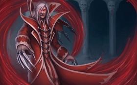 Обои злодей, мужчина, lol, League of Legends, Crimson Reaper, vladimir