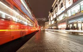 Картинка город, Лондон, Ghost Bus