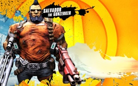 Обои оружие, RPG, 2K Games, Borderlands 2, Gunzerker, Gearbox Software, Unreal Engine 3