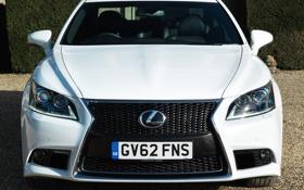 Картинка фары, логотип, Lexus, капот, автомобиль, передок, F-Sport
