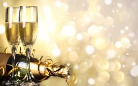 Обои ленты, праздник, Рождество, Happy New Year, Christmas, Merry Christmas, holiday