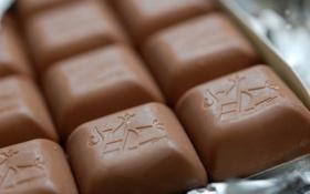 Картинка макро, сладость, шоколад
