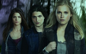 Картинка Marie Avgeropoulos, Сотня, The 100, Eliza Taylor, Thomas McDonell