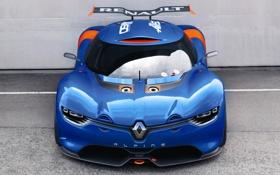 Обои Concept, мощь, Renault, передок, рено, Alpine, A110-50