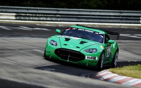 Картинка Гонка, Скорость, Трек, Авто, Трасса, Zagato, Aston Martin