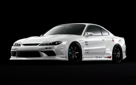 Обои S15, Silvia, Nissan, ниссан, сильвия, с15, advan racing