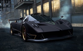 Обои Most Wanted, Pagani Zonda R, 2012, Need for speed