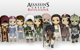 Обои multiplayer, Assassin's Creed, Revelatiosn