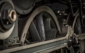 Картинка механизм, паровоз, Поезд, локомотив