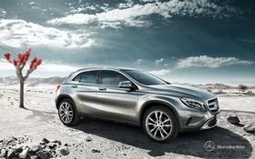 Картинка мерседес, GLA-Class, Mercedes-Benz, 2013, X156