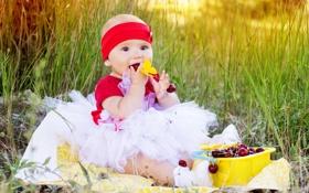 Обои природа, дети, милая, ребенок, малыш, красивая, happy