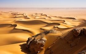 Картинка песок, пейзаж, пустыня