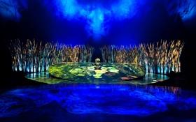 Обои свет, сцена, декорации, Totem, Cirque du Soleil