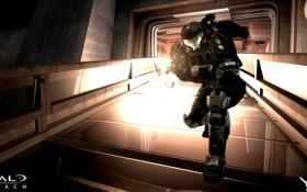 Картинка halo, reach, спартанец, spartan