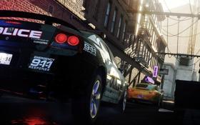 Обои car, 911, need for speed, cars, nfs, dodge, police