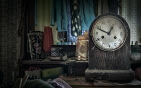 Обои время, фон, часы