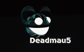 Обои Черный, Музыка, Улыбка, Глаза, Фон, Deadmau5, Дэдмаус