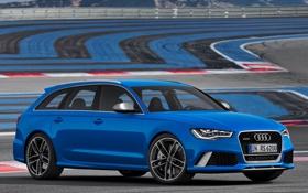 Обои Audi, ауди, автомобиль, универсал, Avant, RS6