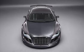 Обои Audi, серая, R8 Spyder