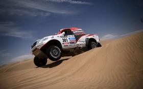 Картинка Колеса, Toyota, Hilux, Rally, Dakar, Внедорожник, Соревнование