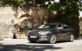 Обои Ford, седан, форд, Sedan, мондео, Mondeo, 2015