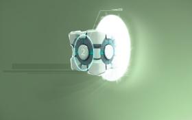 Картинка портал, portal, куб