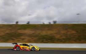 Картинка Mercedes-Benz, Авто, Желтый, Спорт, Тюнинг, Гонка, DTM